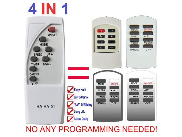 HA-HA-01 Replacement for Haier Commercial Cool Air Conditioner Remote Control AC-5620-54 AC-5620-55 CPR07XC9-LW CPRB07XC7 CPRB07XC7-B CPRB07XC7-E. photo