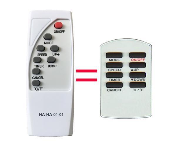 HA-HA-01-01 Replacement for AMANA Air Conditioner Remote Control AC562044 for APO77R ACO77R AP077R photo