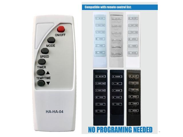 HA-HA-04 Replacement for Haier Commercial Cool Air Conditioner Remote Control HPB10XCR HPB10XCRE HPC12XCR HPC12XCRLW HPC12XHR HPD10XCRLW HPD10XCM. photo