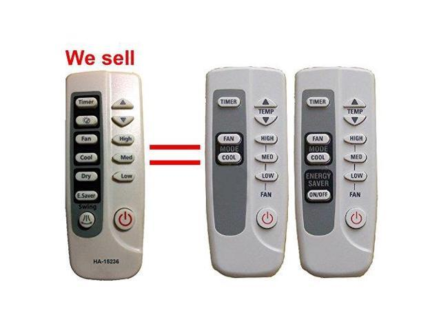 HA-15236 Replacement GE Air Conditioner Remote Control Model Number ARC-715 ARC-767 Works for ASD06LB ASD06LBS1 ASH06LB ASH06LBS1 ASH06LC ASH06LCS1. photo