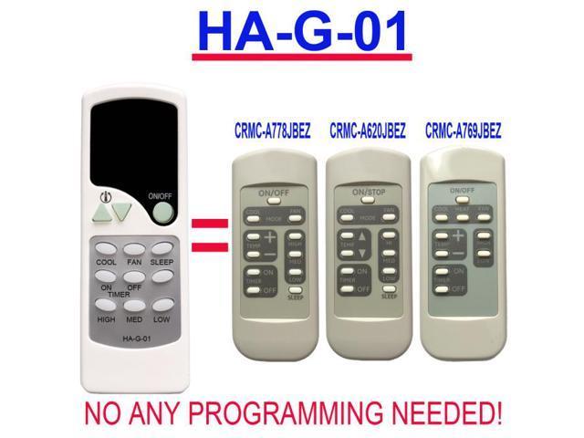 HA-G-01 Replacement for GE Window Air Conditioner Remote Control AJCQ12DCDW1 AJCQ06LCB AJCQ06LCBM1 AJCQ06LCC AJCQ06LCCM1 AJCQ06LCCM2 AJCQ08ACB. photo