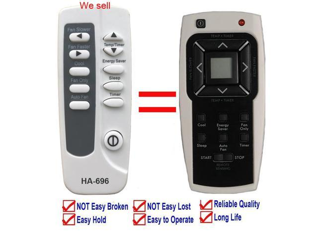 Replacement for Kenmore Air Conditioner Remote Control 5304476246 for Model 253.70085 253.70085010 253.70085011 253.70135010 253.70135011 253.70181. photo