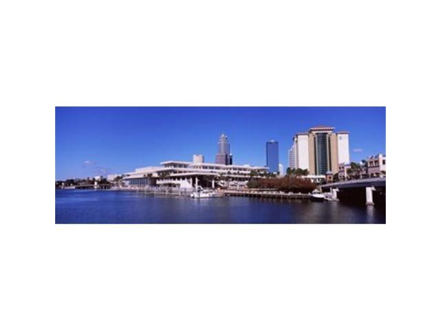 Panoramic Images PPI111915L Skyscrapers at the waterfront Tampa Florida USA Poster Print by Panoramic Images - 36 x 12 (Arts & Entertainment Arts & Crafts) photo
