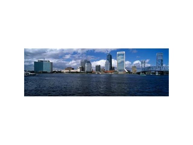 Panoramic Images PPI111447L Buildings at the waterfront St. Johns River Jacksonville Duval County Florida USA Poster Print by Panoramic Images. (Arts & Entertainment Arts & Crafts) photo