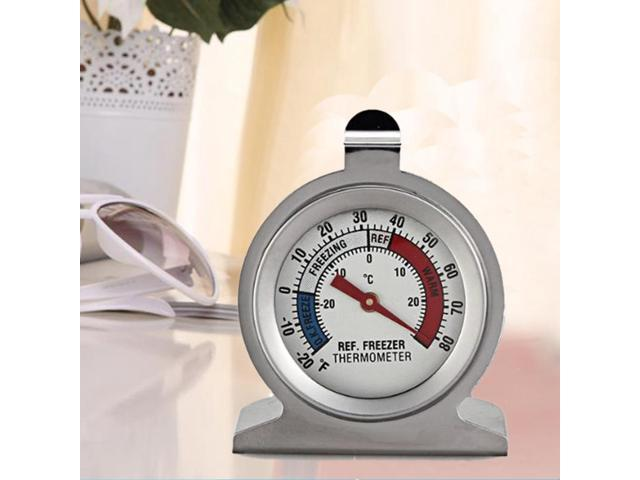 42mm Refrigerator Fridge Kitchen Freezer Thermometer Dail Type Stainless Steel Material High Quality photo