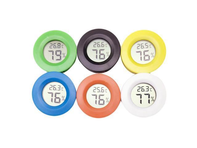 Mini LCD Digital Thermometer Hygrometer Fridge Freezer Tester Temperature Humidity Meter Detector Thermograph Pet Auto Car 1PC photo