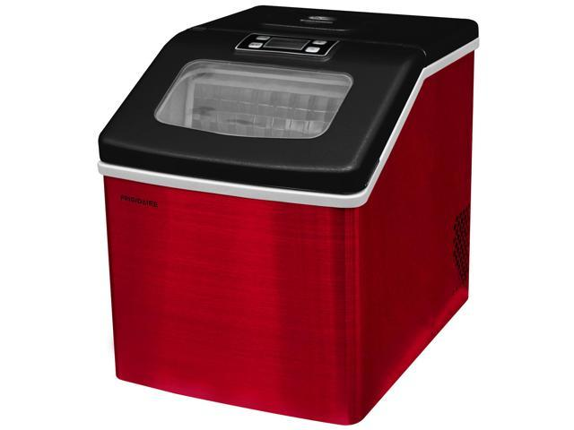 Frigidaire Countertop Ice Maker Red Stainless Steel EFIC452-SSRED photo
