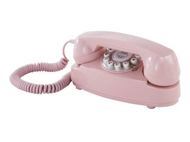 crosley cr59pi princess phone with push button technology, pink (666673276106 Electronics Computer Components) photo