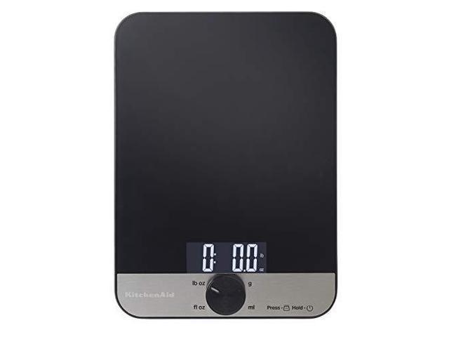 KitchenAid KQ908 Glass 11 Pound Digital Top Kitchen Scale, One photo