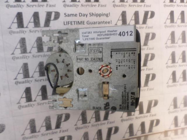 Recertified - 3347283 Whirlpool Washer Timer *LIFETIME Guarantee* SAME DAY SHIP photo
