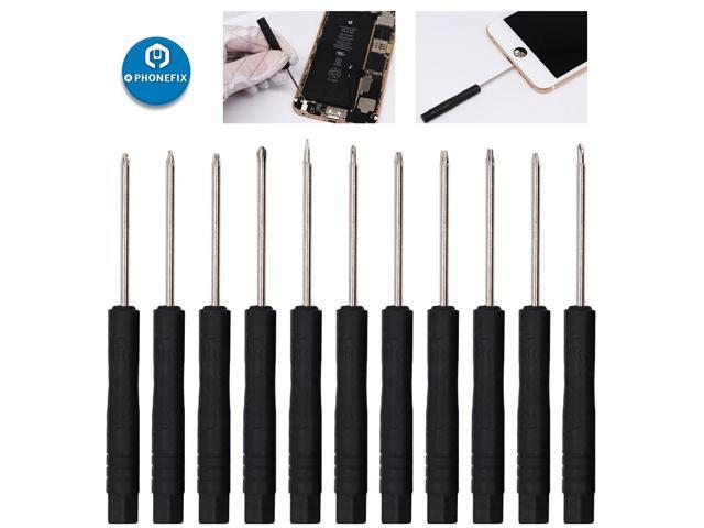 11pcs Precision mini Screwdriver Set Phillips Pentalobe Slotted T2 Y-type for Cell Phone camera hair dryer Repair Opening Tools photo