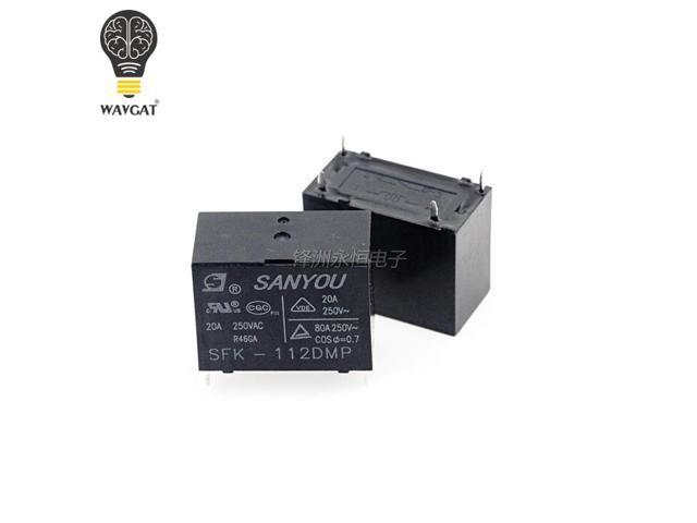 5PCS SFK-112DM HF102F-12VDC G4A20A air conditioner haier 20A 250VAC sanyou relay 100% new original photo