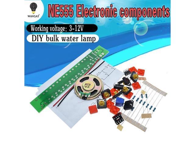 1SET NE555 Component Electronics Electric Piano Organ Module DIY Kit Learn electronic principles, children's lab photo