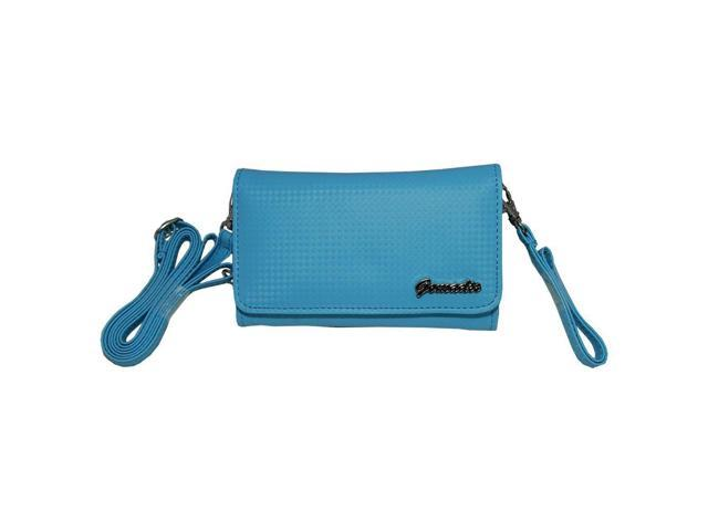 Small and Stylish Women Blue Purse Handbag Case for uPro devices with both Hand Shoulder Strap (842624348300 Electronics) photo