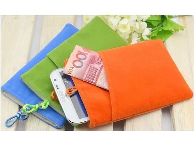 Good quality Universal 5.8' smart Phone Bag Pouch velvet Fabric Case for camera iphone HDD, hard drive backup power battery (Electronics) photo