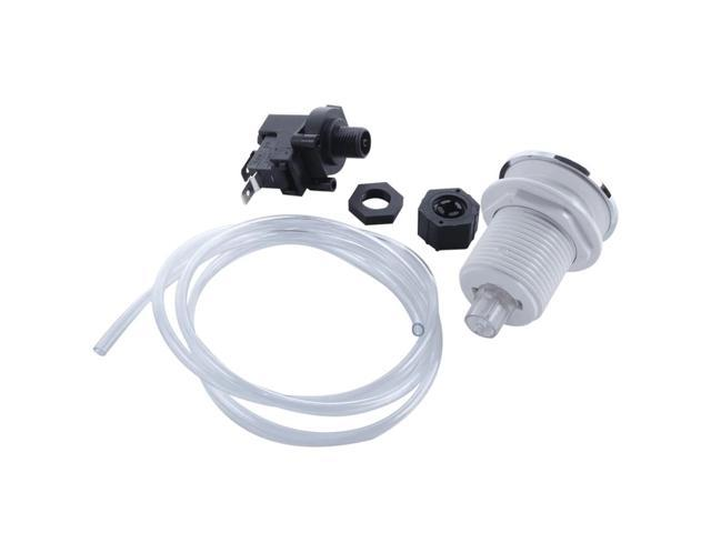 16A On Off Push Button Switch Jetted Whirlpool Jet For Bath Tub Spa Garbage photo