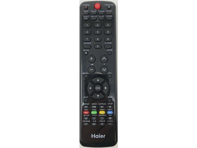Original Haier HTR-D06A Remote for LE22G610CF LE24G610CF LE29C810CF LET32C800HF photo