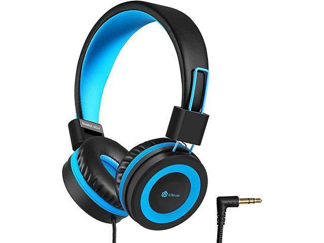 HS14 Kids Headphones Headphones for Kids with 94dB Volume Limited for Boys Girls Adjustable Headband Foldable Child Headphones on Ear for Study.