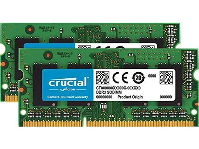 crucial technology 8gb kit (4gbx2) upgrade for a lenovo thinkpad t510 series system (ddr3 pc3-12800, non-ecc,) (649528621405 Electronics Memory Ram) photo