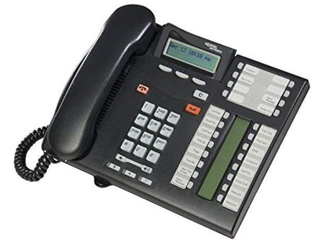 consumer electronic products nortel t7316e telephone charcoal supply store (renewed) photo