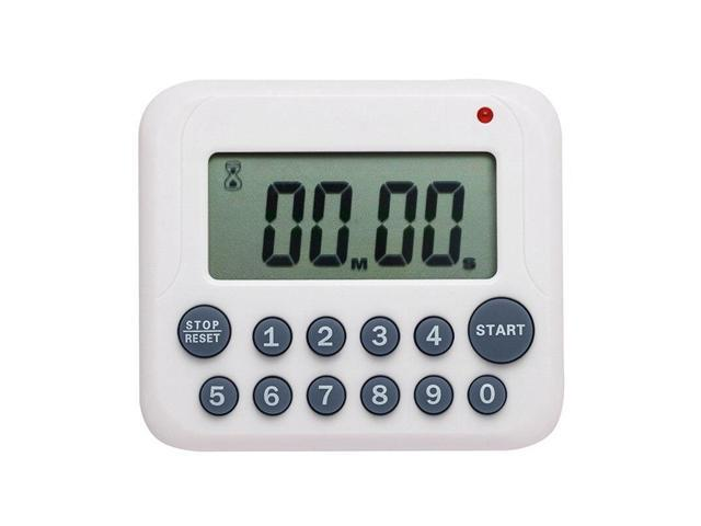 Digital LCD Timer Counter Count Down Up Cooking Baking Alarm Kitchen Timer Electronic Clock Magnetic Digital Timer Supplies New photo