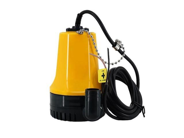 Bilge Pump, 12V Micro- Dc Immersible Submersible Agricultural Irrigation Portable Electric Water Removal Pump photo