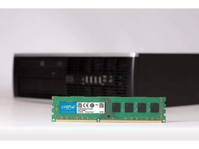 Crucial Technology - CT8G3ERSLS4160B - Crucial 8GB 1600MHz DDR3 PC3-12800 Registered ECC CL11 240-Pin DIMM 1.35V Low Voltage Single Rank Memory (Electronics Ram) photo