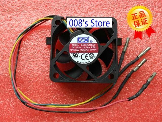 New Radiator CPU Cooler Fan For DAZA0515RCU PG01 5CM50*50*15MM 5015 Refrigerator Waterproof Cooling DC 13.6V 0.20A photo