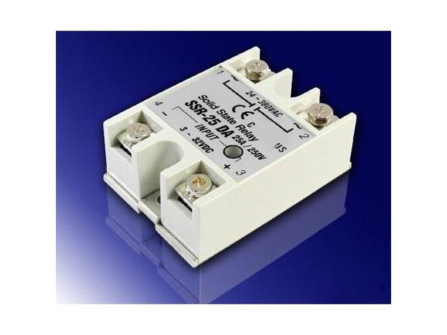 2015 25A DC-AC SSR Solid State Relay 3V-32V DC input for oven, photo