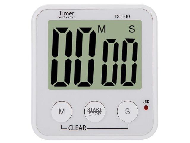 Digital Kitchen Timer Electronic timer white photo