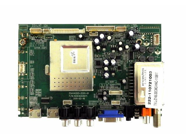 Recertified - Haier L32F1120 Main Board 222-110921003, ZSAV4203-ZC01-01, 303C4203071 photo