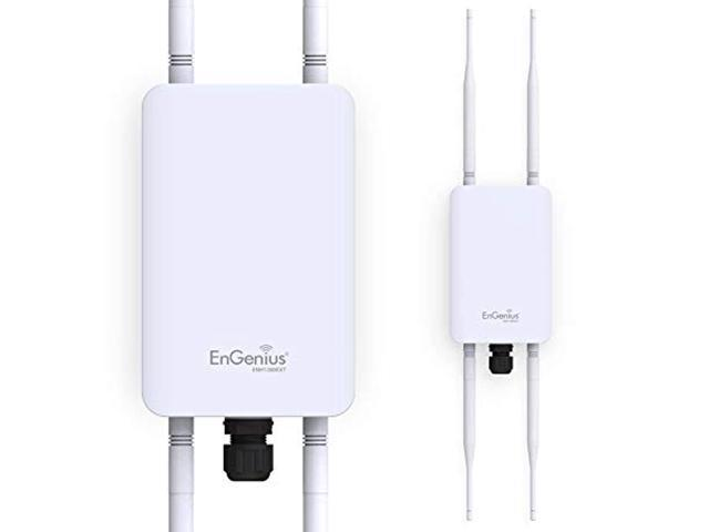 EnGenius Technologies ENH1350EXT Wi-Fi 5 AC1300 2x2 Dual-Band Outdoor Long Range Access Point Features IP67 Rated, MU-MIMO, PoE Injector Included. (Electronics Networking Bridges & Routers) photo
