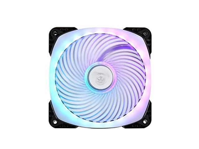 SilverStone Technology PWM 120mm Addressable RGB Fan with Dual Ball Bearing and Air Penetrator Frame (SST-AP124-ARGB) (Electronics Computer Accessories) photo