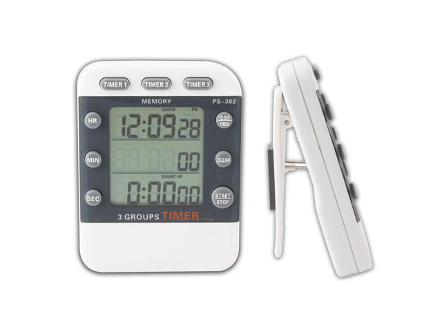 Lcd Digital 3 Channel Alarm Timer, Electronic Countdown Clock Timer photo