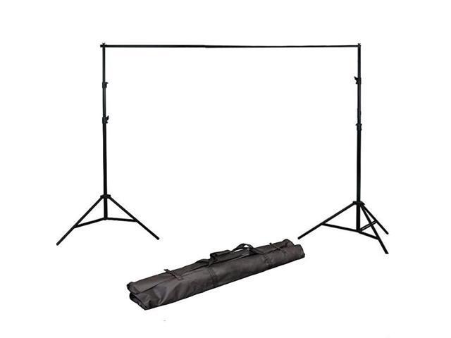 H804B Adjustable Background Backdrop Support Stands Photography Backdrop Crossbar Frame Kit