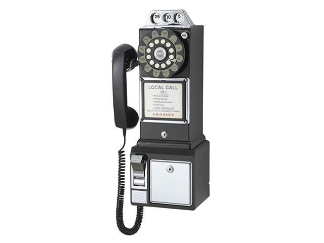 CR56-BK 1950's Payphone with Push Button Technology, Black (Electronics Networking Bridges & Routers) photo