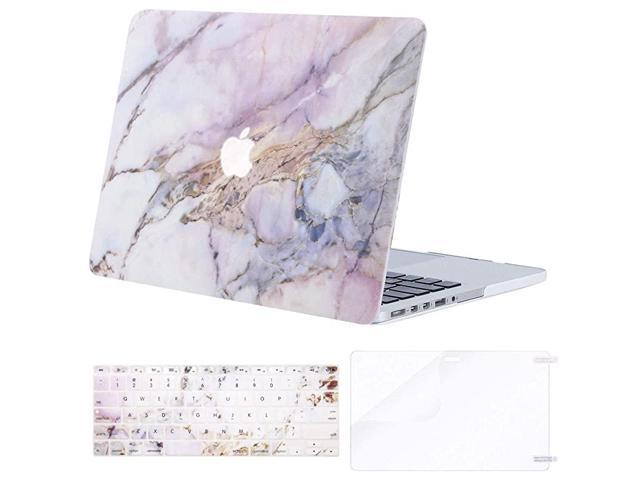 Compatible with MacBook Pro 15 inch Case with Retina Display Model A1398 Older Version 2015 end 2012 Release Plastic Pattern Hard ShellKeyboard.