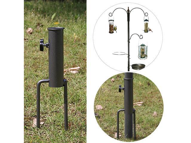 Bird Feeder Pole Hangers Feeding Station Stabilizer Feet SpikesStand Feed Tube Garden Lawn (821320444332 Home & Garden Lawn & Garden Outdoor Living) photo