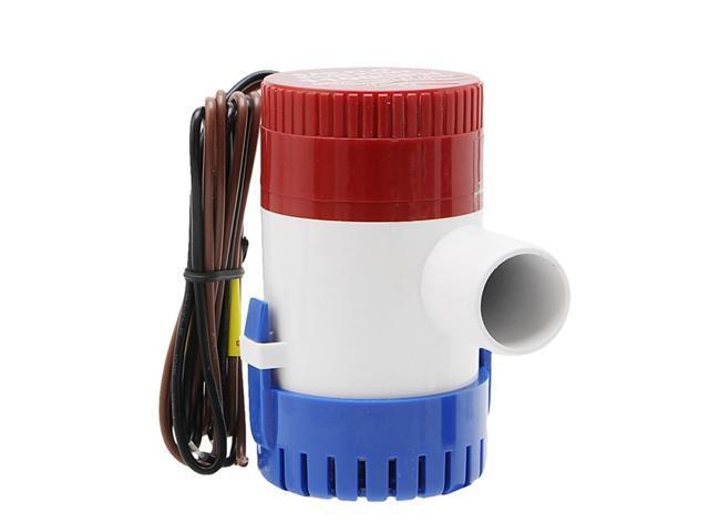 12V Electric Pump 500GPH Marine Bilge Pump Submersible Boat Water Pump - 12V photo