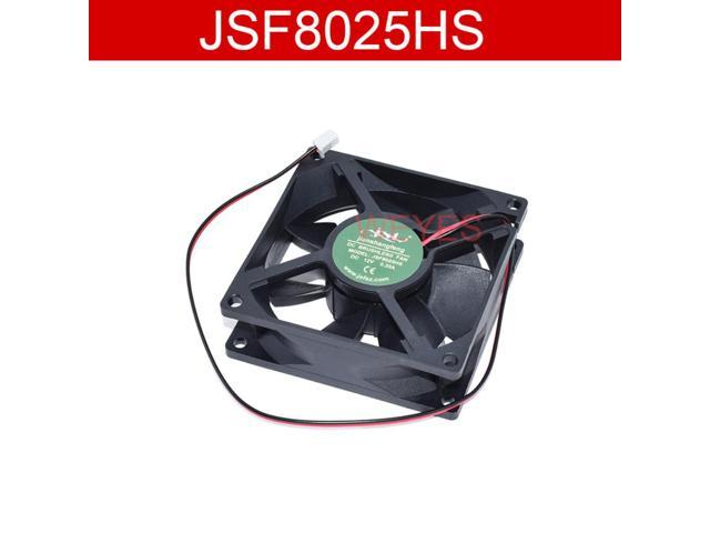 For JSF8025HS DC12V 0.35A 8CM 8025 80*80*25MM 2 Wires Air Dryer Fan Violence photo