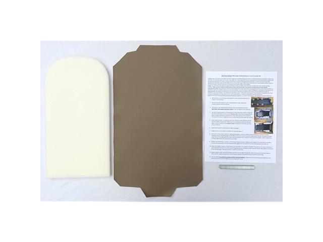 Explorer Premium Padded Replacement armrest Console Cover with Staples - Medium Prairie Tan (1997-05)