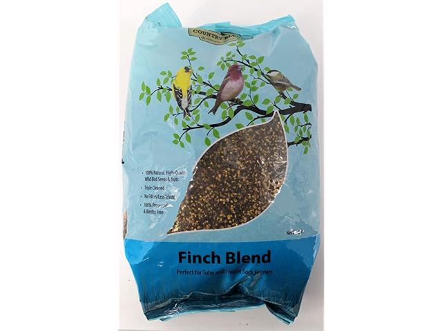 Finch Blend 5 lbs Bag Wild Bird Food Seed Mix (Home & Garden Pool & Spa) photo