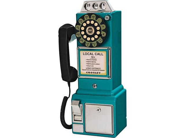 CR56TL 1950s Payphone with Push Button Technology Teal (Electronics Networking Bridges & Routers) photo