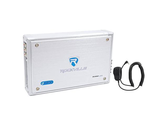 Micro MarineATV Amplifier 1600w Max 4 Channel 4x100CEA Rated RXMS20