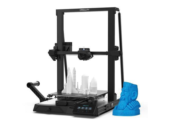 Creality CR-10 Smart 3D Printer Official Upgrade Built-in WiFi Function and Intelligent Automatic Leveling Technology with Carbon Crystal Silicon. (Electronics) photo