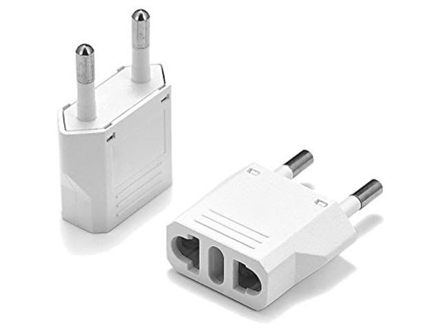 United States To Republic Of The Congo (Brazzaville) Travel Power Adapter To Connect North American Electrical Plugs To Congolese Outlets For. photo