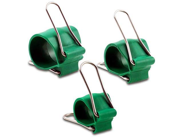 Variety Packs Universal Bundling Clip for All The Chaos in Life IndoorOutdoor Stainless Steel Wings Office Home Garden 3 Sizes Qty 18 Small Green. photo