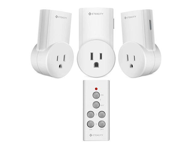 Remote Control Outlet Wireless Remote Light Switch for Lights, Lamps, Fans, Household Appliances, Up to 100 ft. Range, FCC, ETL Listed (Learning. photo