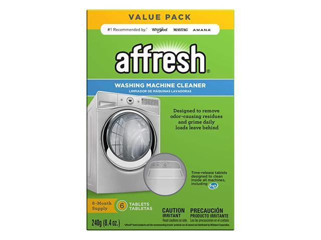 W10501250 Washing Machine Cleaner 6 Tablets Cleans Front Load and Top Load Washers Including HE photo