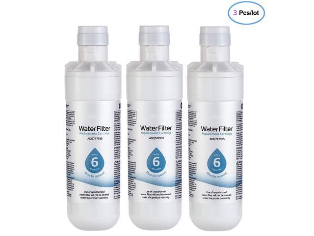 LT1000P Water Filter Replacement for LG LT1000P ADQ747935 ADQ75795105 AGF80300704,6 Month / 200 Gallon(3 PACK) photo